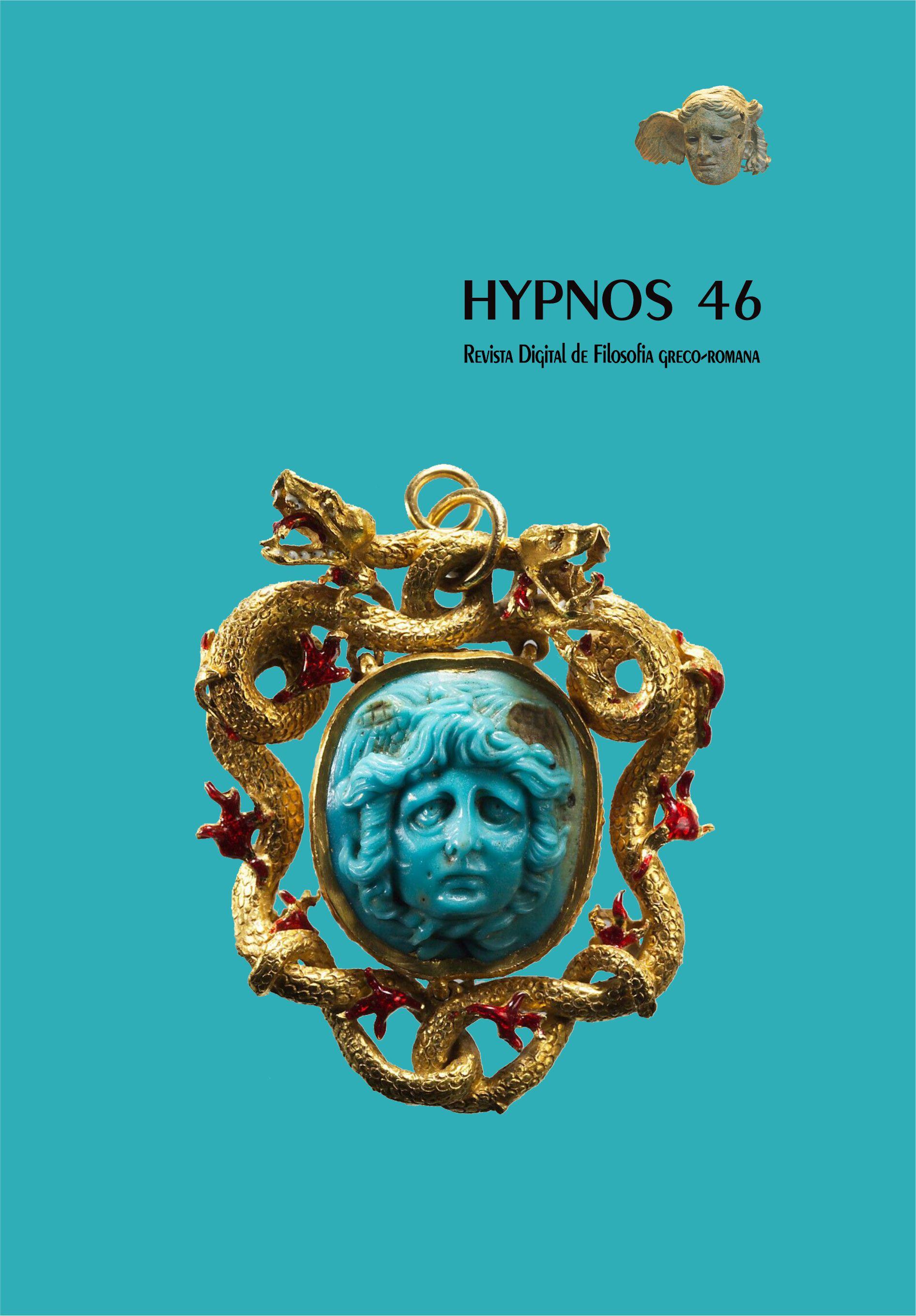 Capa edição 46 - Espécie de broche da antiguidade romana