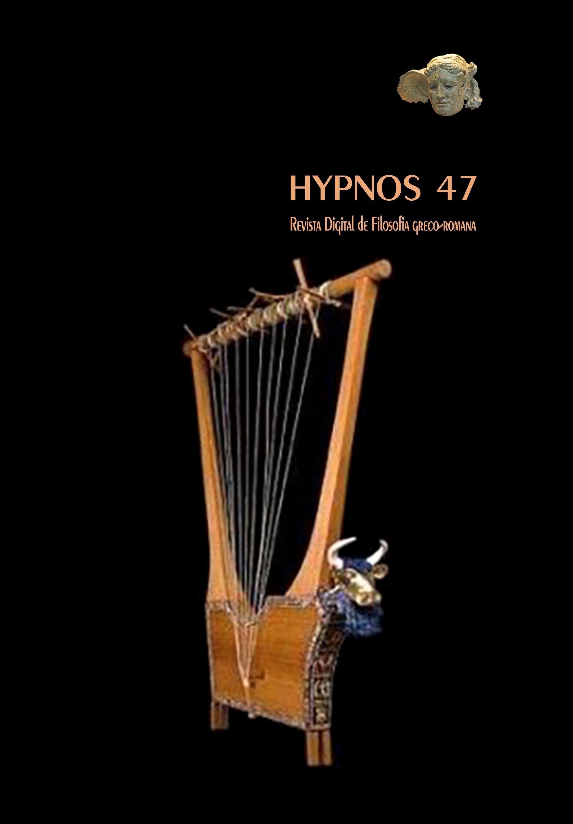 Capa Hypnos 47 - Imagem: lira grega antiga